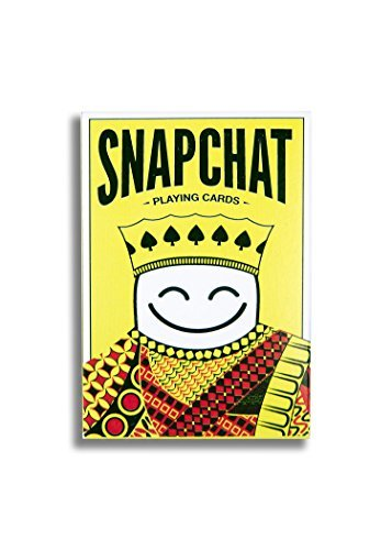 Official Snapchat Playing Cards by Snap