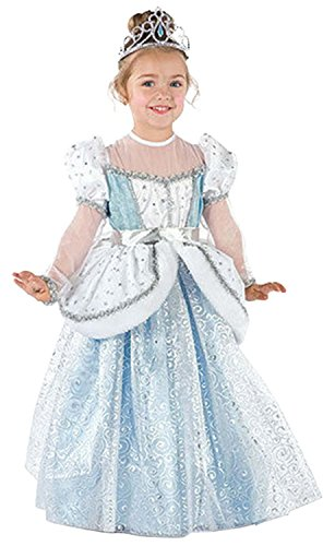 Cinderella Outfit - Laryana® Kids Children Girls Cinderella Princess Palace Outfit Party Dress,120cm/4T-5T