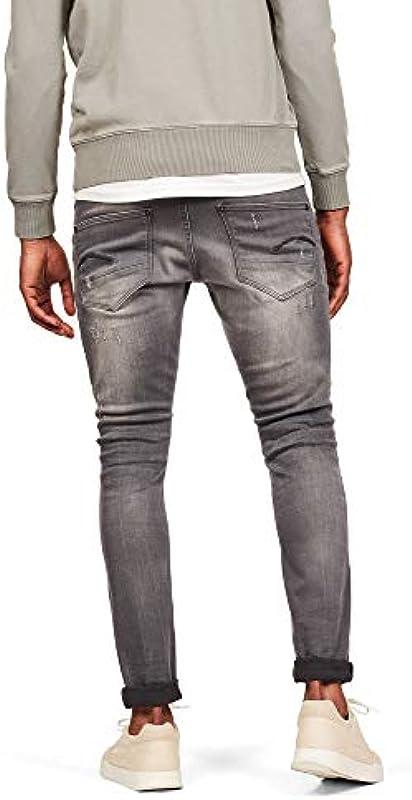 G-STAR RAW Męskie dżinsy Revend Skinny: Odzież
