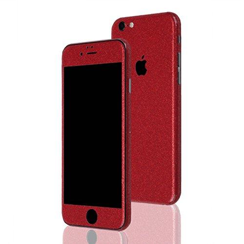 AppSkins Folien-Set iPhone 6 Full Cover - Diamond red
