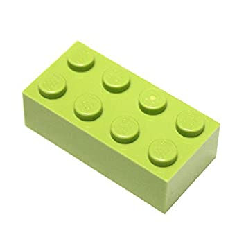 2x4 Brick x100 Light Gray LEGO Parts and Pieces Medium Stone Grey