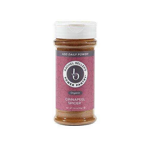 Rachel Beller's Power Pantry CinnaPeel Spicer - All organic Ceylon cinnamon, orange peel, and ginger spice blend, 3.4 ounce by Rachel Beller's Power Pantry