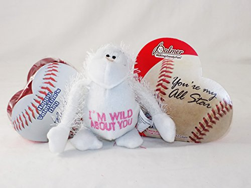 'Perfect for the Boys!' Baseball Sports Themed Valentine Gift Pack