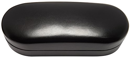 Sunglass Case - Hard Metal Core Flip Top Eyeglass Storage Case for Large - Extra Large Sunglasses / Eyeglasses - Classic Style For Men & Women - Protect Your Best Designer Eye Glasses Investments With This Luxurious Interior Solid Case - 120 Day Guar