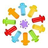 Kare & Kind® Set of 10 pcs Smart Dough Tools Kit with Extruder Machine (10 Extruder Tools)