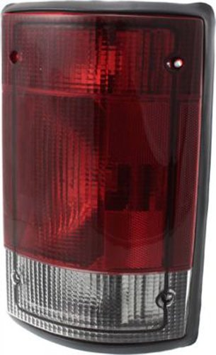 Crash Parts Plus Right Passenger Side Tail Light Tail Lamp for 2004-2014 Ford E-Series, Excursion (2014 Ford E 250 Extended Cargo Van)