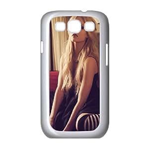 Avril Lavigne Samsung Galaxy S3 Cases, Cute Design Case for Samsung Galaxy S 3 Stevebrown5v {White}