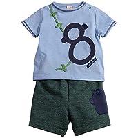 Conjunto Oito Green Azul - Bebê Menino