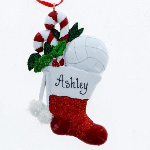 - Kurt Adler Christmas Volleyball Stocking Ornament, Multi-color