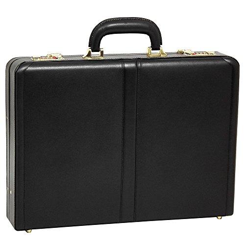 Slim Attache - McKlein USA Reagan Slim Attache Case V series Leather 18