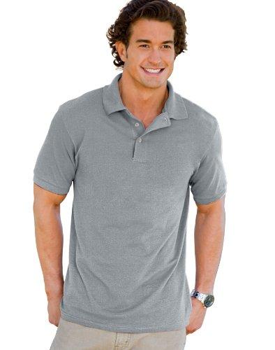 Hanes Men's ComfortBlend EcoSmart Jersey (50 Blended Jersey Polo)
