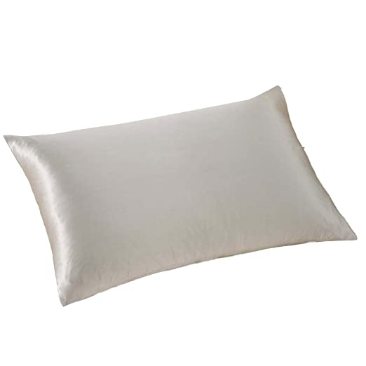 Loolik Fundas de Cojines,Rectángulo de Seda de Color Sólido Throw Pillow Case Funda de Almohada para Cojín 30 x 50 CM (Gris)
