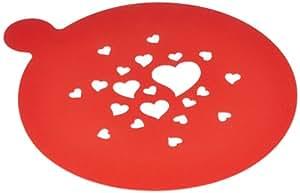 Birkmann 450110 - Plantillas para tartas con forma de corazón