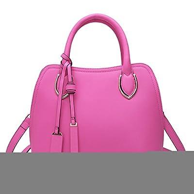 Missmay Women's Genuine Leather Purse Shoulder Bag Fit Ipad Crossbody Handbag Satchel Tote Celeb