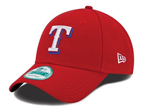 New Era MLB Texas Rangers Alt The League 9FORTY Adjustable Cap, One Size, Scarlet