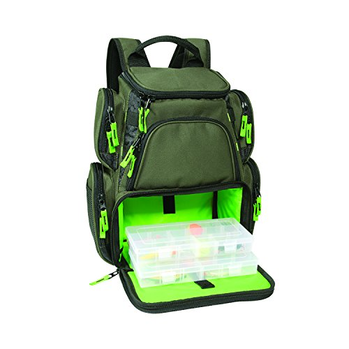 Wild River CLC WT3508 Multi-Tackle Small Backpack with Two 3500 Style Trays