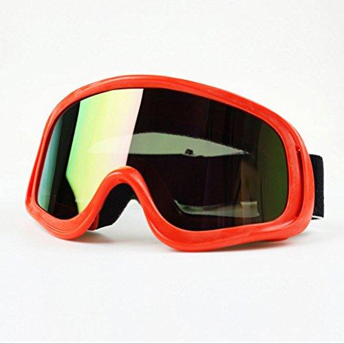 Anteojos a la N explosiones Motocicleta de Gafas PC Material esquí natación de Prueba Xdwv1T