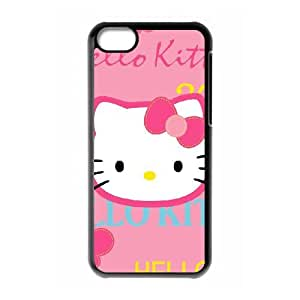 Hello Kitty iPhone 5c Cell Phone Case Black xlb-082431