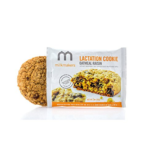 Milkmakers Oatmeal Raisin Dairy Free Lactation Cookies