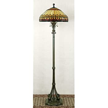 Quoizel Tf9397vb Gotham Tiffany Floor Lamp 2 Light 200