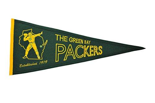 Winning Streak NFL Green Bay Packers Throwback Pennant from Winning Streak