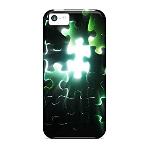 5c Scratch-proof Protection Cases Covers For Iphone/ Hot Big Puzzle Phone Cases