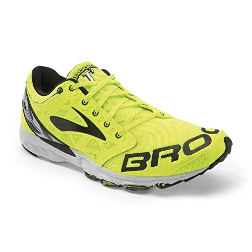 Brooks Racer T7 Uomo, Scarpe da Corsa Uomo Giallo (Gelb (Nightlife/Black))