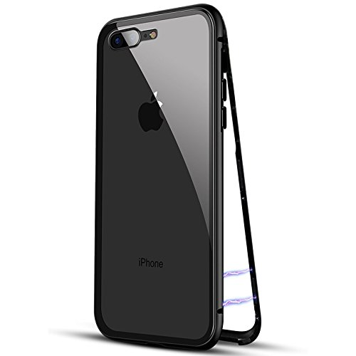 9f439b3b3a7 ikazen Luxury Magnetic Metal Bumper Case with Tempered  Amazon.in   Electronics
