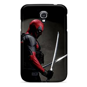 Tpu Shockproof/dirt-proof Deadpool Cover Case For Galaxy(s4)