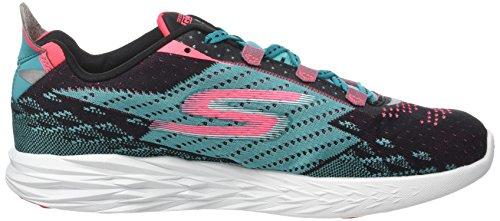 Skechers Go Run 5, Zapatillas de Deporte Exterior para Mujer Negro (Bktl)