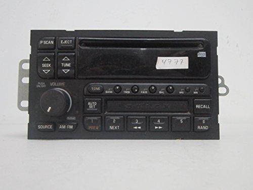 - 97 98 99 00 01 02 BUICK PARK AVENUE CENTURY CD CASSEST PLAYER RADIO