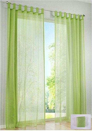 Hot Sale- High Quality western simple Voile Solid color sheer window curtains Free shipping (a - Shipping Track Rate Flat