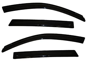 auto ventshade 94187 smoke vent visor for kia sorento 4 piece automotive. Black Bedroom Furniture Sets. Home Design Ideas