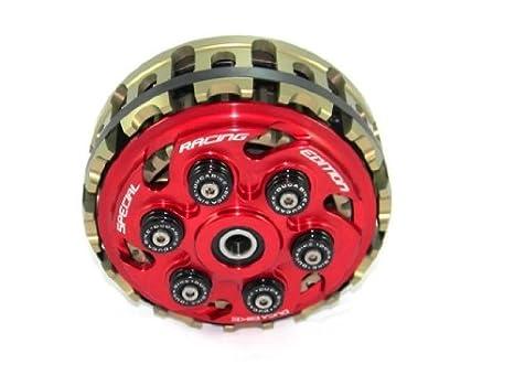 ducabike Ducati 6 Suspensión para Racing Edition ajustable Slipper Clutch de salto: Amazon.es: Coche y moto
