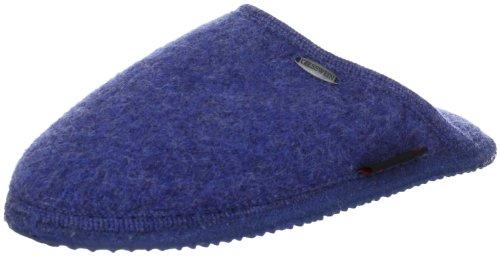 Giesswein Tino Unisex-Erwachsene Pantoffeln Blau (527 / jeans)