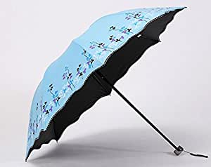 Automatically Open The UV Umbrella Large Umbrella Portable Folding,C