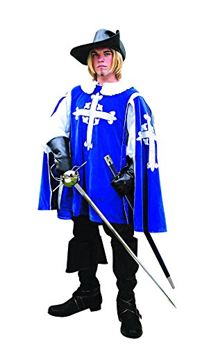 Musketeer Renaissance Tabard Men's Sleeveless Jerkin ()