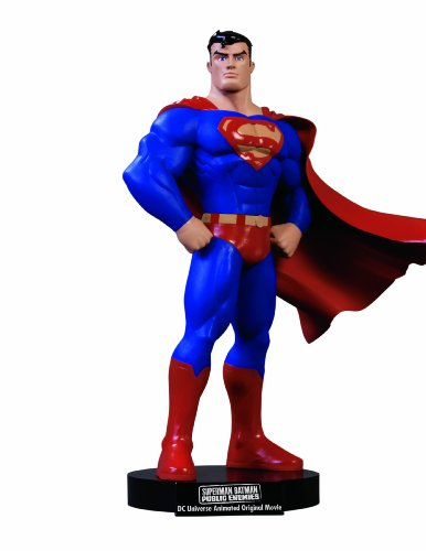 DC Direct Superman/Batman: Public Enemies DVD Superman Maquette