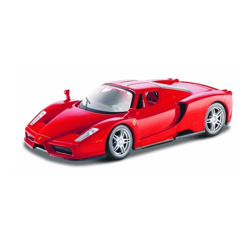 Maisto 1:24 Scale Assembly Line Ferrari Enzo Diecast Model Kit (Colors May (24 Metal Model Kit)