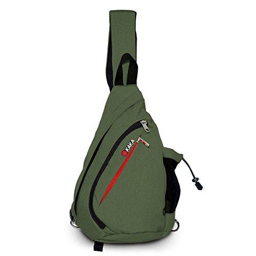 Shoulder Unbalance Backpack Adjustable multi colored