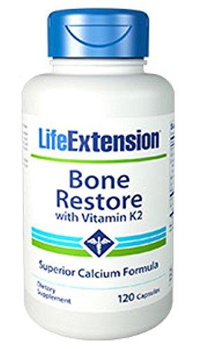 Bone Restore with Vitamin K2 120 capsules-PACK-3