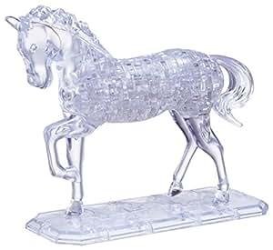 HCM Kinzel 9001 - Puzzle de cristal en 3D diseño Caballo [Importado de Alemania]