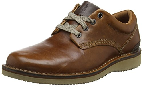 Rockport Prestige Point Plain Toe - Zapatos Hombre Marrón - Brown (Tan 2)