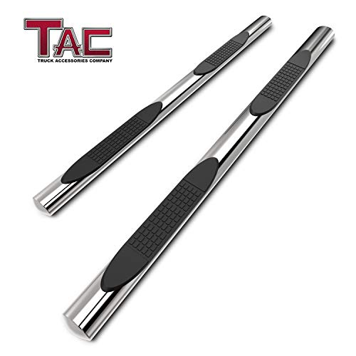 TAC Side Steps Fit 2007-2016 Chevy Traverse/GMC Acadia (Incl. 2017 Acadia Limited)(Excl. Denali)/2007-2009 Buick Enclave/2007-2010 Saturn Outlook 4