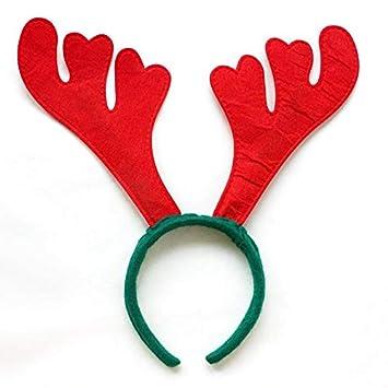 Amazon.com: Kerst Haar Accessoires Navidad Deer Antlers ...