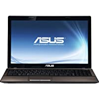 Asus X53E-RS52 15.6 Laptop Computer, Intel Core i5-2450M 2.5GHz, 6GB RAM, 750GB HDD, Windows 7 Home Premium (Upgradable to Windows 8 Professional)