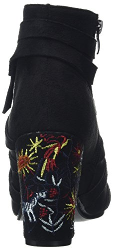Joe Embroidered Bottines Creative Femme Browns Boots rOxwrqREp