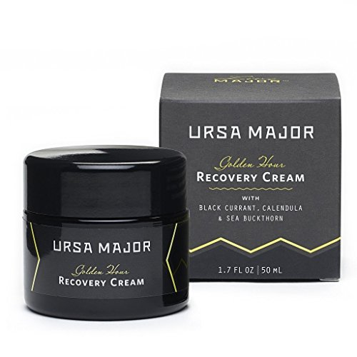 Ursa Major Golden Hour Recovery Cream - Natural Rich and Intensely Hydrating Face Cream with Black Currant, Calendula & Sea Buckthorn (1.7 oz)