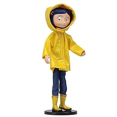 NECA Coraline 7 inches Ben Di fashion doll Coraline raincoat ver.: Toys & Games