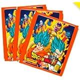 Figurinhas Dragon Ball Z Super - lote com 10 Envelopes